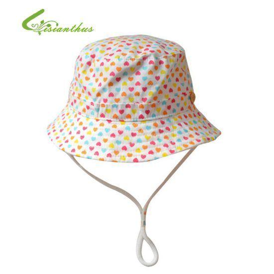 Children-Girls-Sun-Hats-Spring-Summer-Caps-Little-Hearts-Beach-Hat-Baby-Kids-Princess-Cap-New