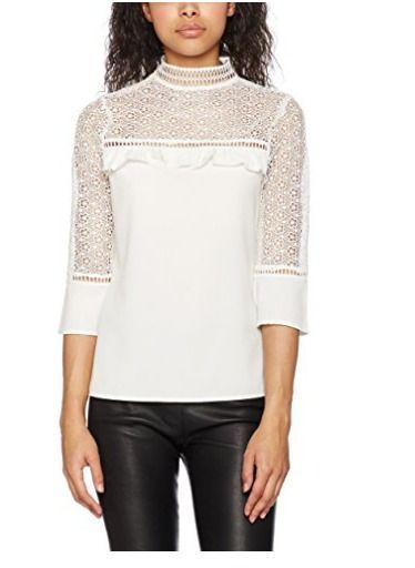 blusa blanca Amazon