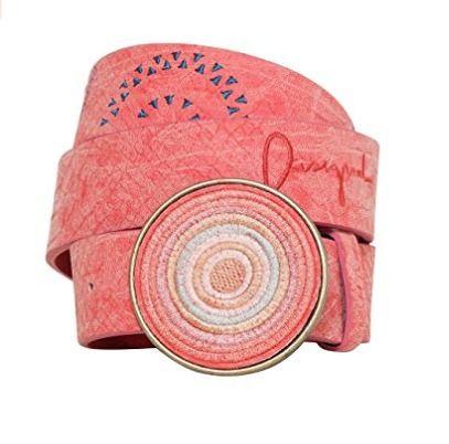 cinturon rosa desigual
