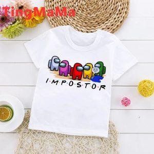 Camisetas infantiles Among Us